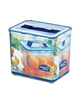 Lock&Lock Classics Tall Rectangular Container with Handle and Tray, 8.5 Litres