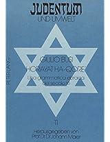 Horayat Ha-Qore': Una Grammatica Ebraica del Secolo XI (Judentum Und Umwelt / Realms of Judaism)