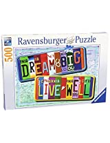 A License To Life 500 Piece Puzzle By Ravensburger