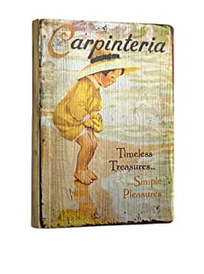Artehouse Simple Pleasures-Carpinteria Reclaimed Wood Sign