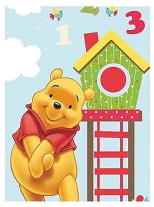 Disney Toalla Sorpresa Winnie The Pooh (Azul)