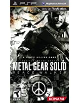 Metal Gear Solid Peace: Walker (PSP)