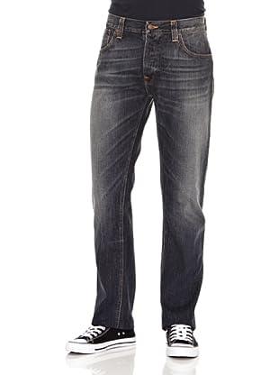 Nudie Jeans Pantalón Hank Rey (Gris oscuro)