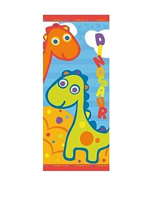 Art Experience Toalla De Playa Dinos Multicolor 75 x 150