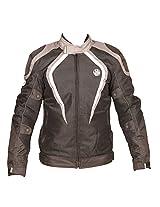 Rynox Nylon Mesh Tornado Jacket (Grey, Large)