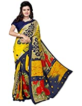Flour Design Kimaya Printed sarees with blouse piece
