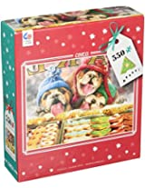 Ceaco Avanti Christmas Holiday Window Shopping Puzzle (550 Piece)