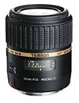 Tamron SP AF 60mm F/2 Di-II LD [IF] 1:1 Macro Prime Lens with Hood for Canon DSLR Camera