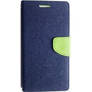 GOOSPERY(MERCURY) PREMIUM DIARY FLIP CASE for HTC DESIRE 816 WALLET COVER BLUE/GREEN