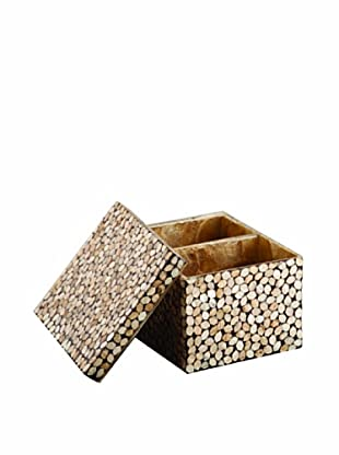 Pearl Dragon Gold Hexagonal Ammeneties Box