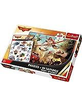 Trefl, Disney Planes 2 - Rescue, 100 Pieces Jigsaw - Puzzle + Tattoosrescue
