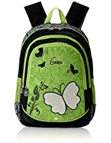 "Genius Nylon Children's Backpack (GN 1512 - 19""-GREEN)"