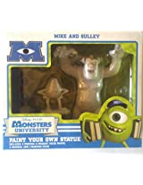 Disney Monster University Mike and Sully Paint Your Own Statue
