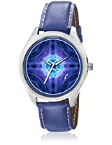 Blue Brass Analog Watch Foster's