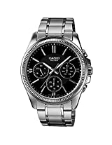 Casio Enticer Black Dial Men's Watch - MTP-1375D-1AVDF (A836)