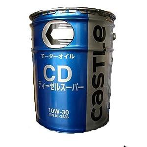 【クリックで詳細表示】トヨタ純正オイル キャッスル ディーゼルスーパー CD 10W-30 V9210-3536 20L缶