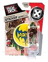 Tech Deck Td Throwback Sticker Series 2 H Street Fingerboard 2/6