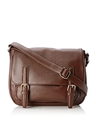 co-lab by Christopher Kon Women's Fiona Flap Cross-Body, Brown
