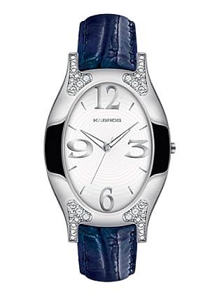 K&BROS 9157-1 / Reloj de Señora  con correa de piel azul