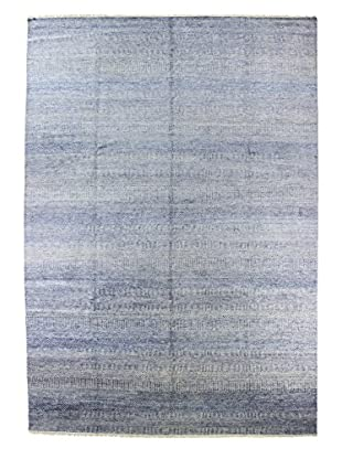 Bashian Rugs One-of-a-Kind Hand Knotted Rug, Light Blue, 9' 10