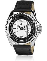 Nc3063Sl01-Db237 Black / White Analog Watch