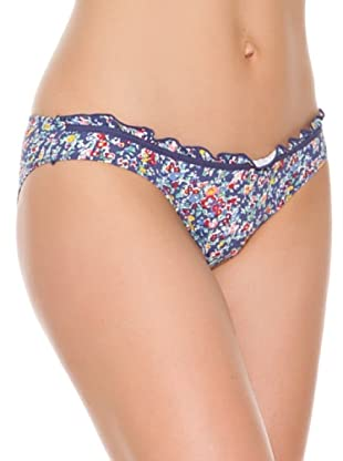 Women secret Braguita Bikini Cadera Flowers (Azul)