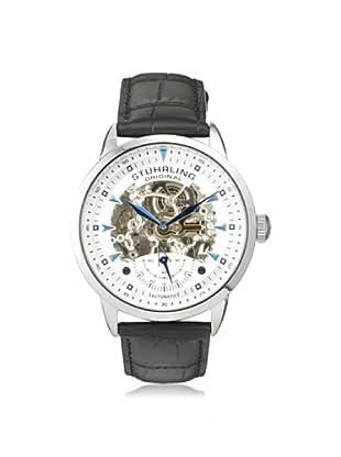 Stuhrling Men's 133.33152 Symphony Aristocrat Black/Silver Watch