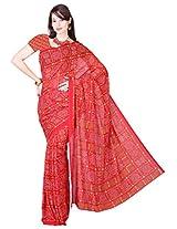 Kanheyas Bandhani Crepe Printed Saree
