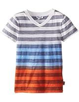 Splendid Little Boys' Classic Stripe V-Neck Shirt