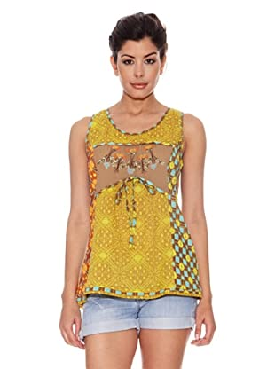 Peace & Love Camiseta Sebastopol (Amarillo)