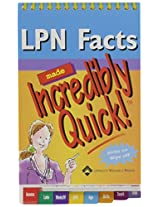 Lpn Facts Made Incredibly Quick!: 6-copy Prepack