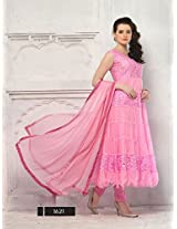 4011_Latest Pink Designe Stiched Anarkali Salwar Suit