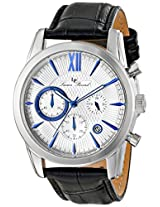 Lucien Piccard Men's LP-12356-023BA Mulhacen Analog Display Japanese Quartz Black Watch
