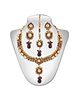 Niki Jewels Copper Choker Necklace For Women Multi-Colour - 021 003 77