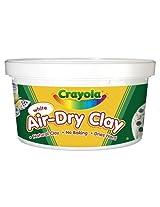 Crayola Air Dry Clay Bucket, White (2.5Lb)