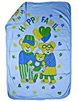 LOVE BABY EGYPTION COTTON TOWEL WITH HOOD BLUE 902 EGYPTION TOWELBLUE