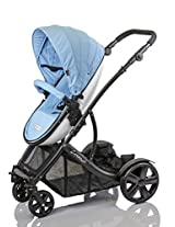 guzzie+Guss Connect+4 Stroller, Blue
