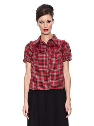 Trakabarraka Camisa Escocesa (Rojo)