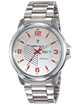 Optima Analog White Dial Men's Watch - FT-ANL-2506