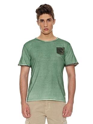 Carrera Jeans Camiseta Lavado (Verde)