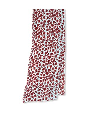 Raj Imports Women's Animal Print Scarf (Blue)
