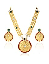 Traditional Multicolor Necklace Set