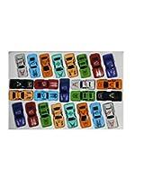 Wheel Force Car set 25 pcs(Multicolor)