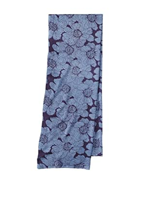 Raj Imports Women's Flower Scarf (Blue)