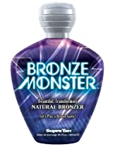 Supre Bronze Monster Natural Streak - Free Bronzer Tanning Lotion 10.1 Oz.