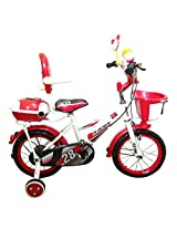HLX-NMC KIDS BICYCLE 14 BOWTIE RED/WHITE