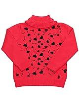 Full Sleeves Sweater - Heart
