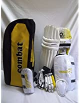 Combat Regular Quality Complete Cricket Kit Without Cricket Bat-Boy
