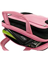 Roocase 10-Inch And 11.6-Inch Netbook / Ipad Carrying Case (Deluxe Bag - Pink / Black)