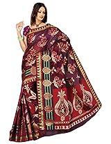 Saree Sansarr Saree (7111_Magenta)